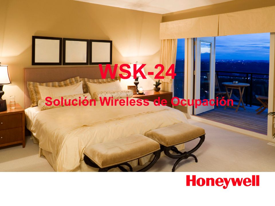 WSK-24 Solución Wireless de Ocupación