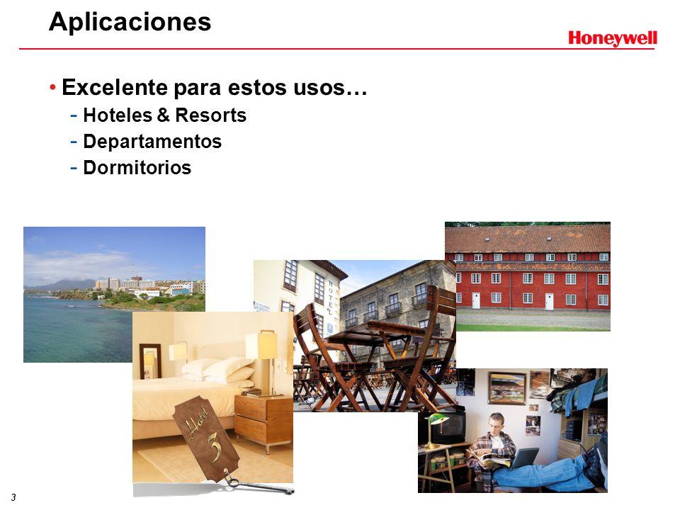 Aplicaciones Excelente para estos usos… Hoteles & Resorts