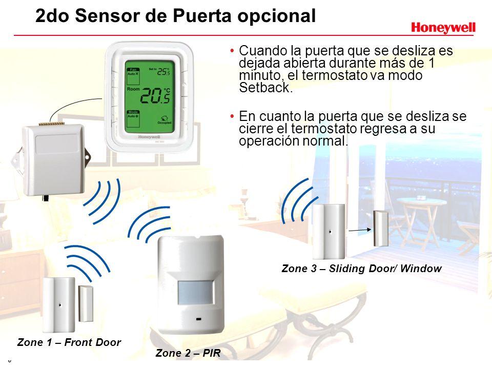 2do Sensor de Puerta opcional