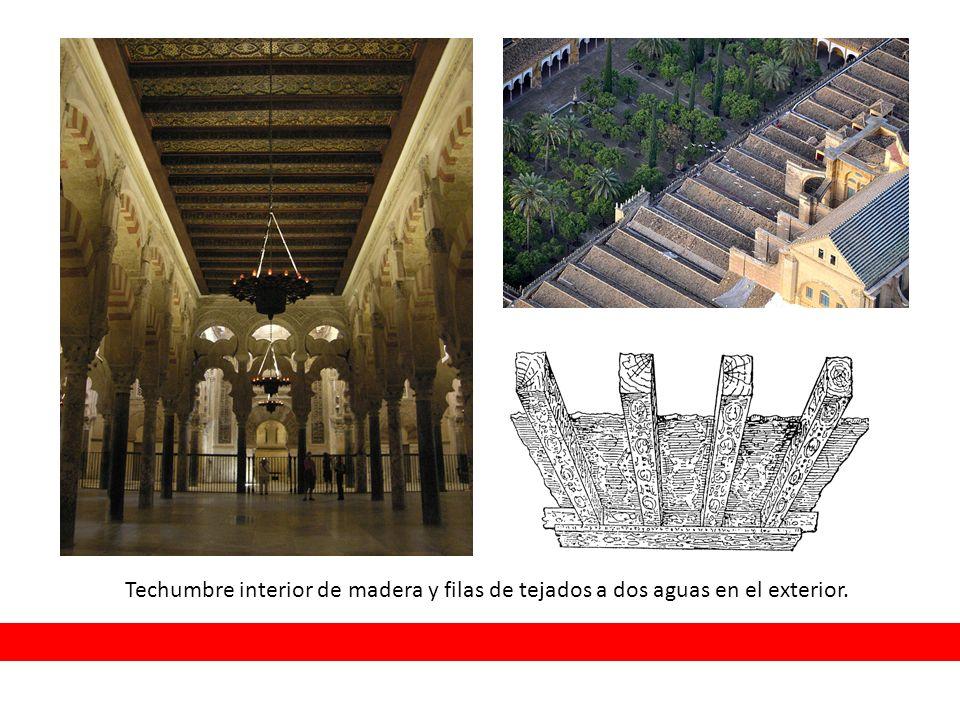 La mezquita de c rdoba ppt video online descargar for Tejados de madera a dos aguas