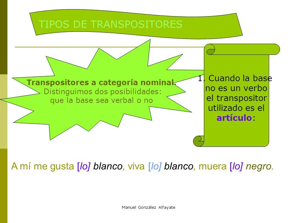 TIPOS DE TRANSPOSITORES