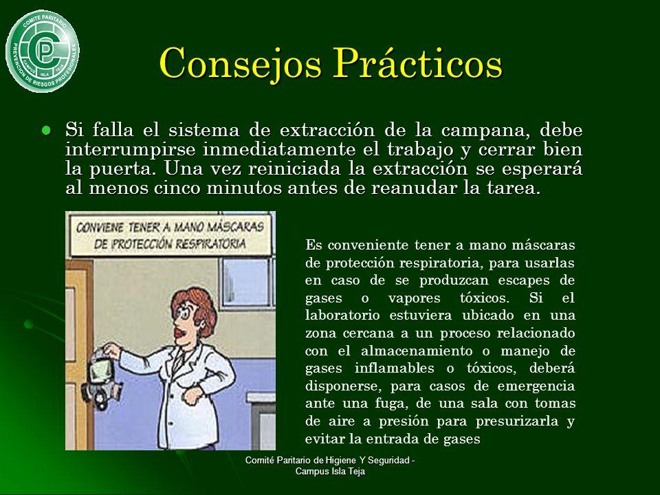 Comité Paritario de Higiene Y Seguridad - Campus Isla Teja