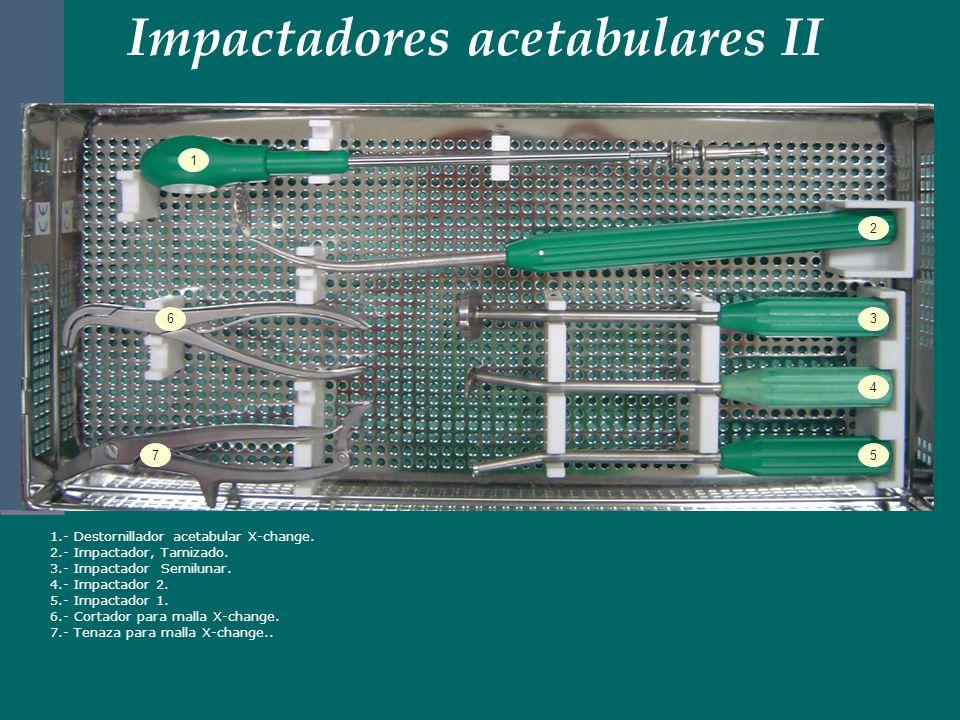 Impactadores acetabulares II