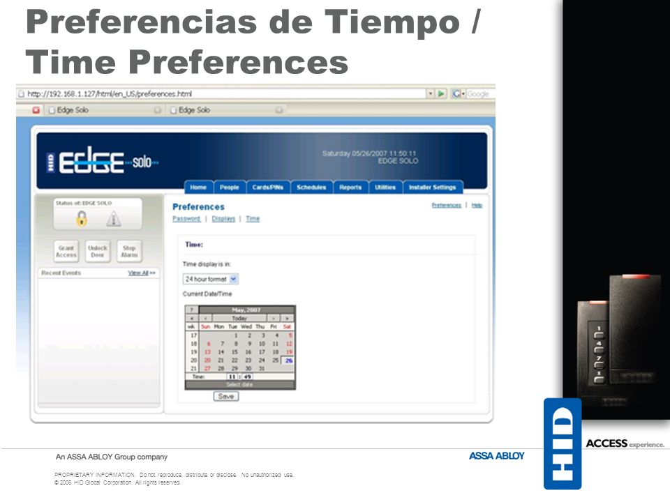 Preferencias de Tiempo / Time Preferences