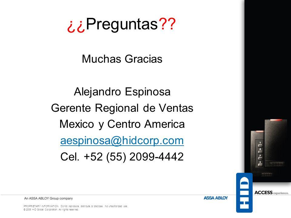 ¿¿Preguntas Muchas Gracias Alejandro Espinosa