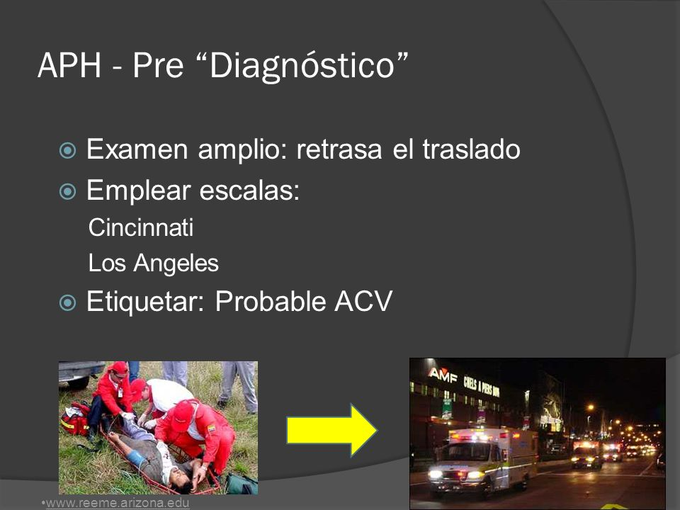 APH - Pre Diagnóstico