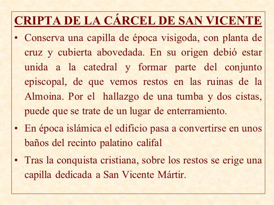 CRIPTA DE LA CÁRCEL DE SAN VICENTE