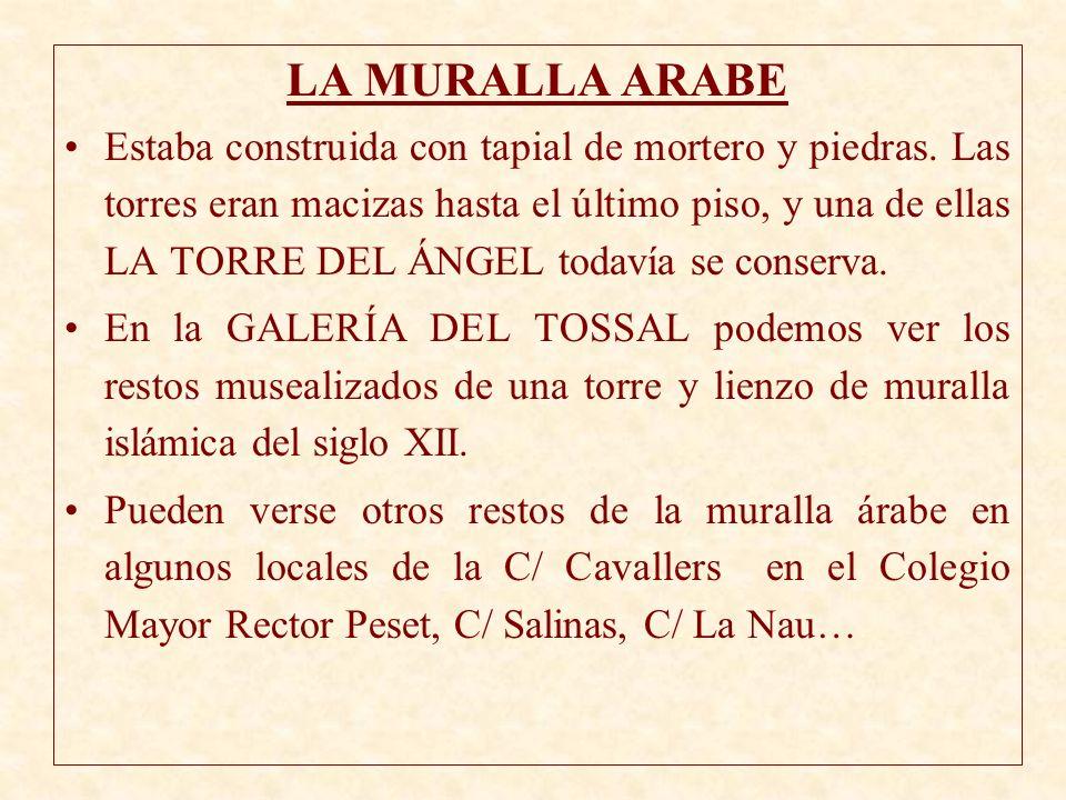 LA MURALLA ARABE