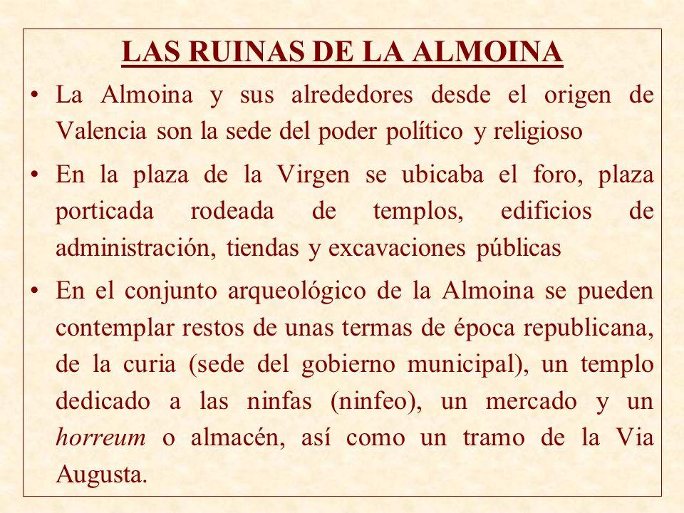 LAS RUINAS DE LA ALMOINA