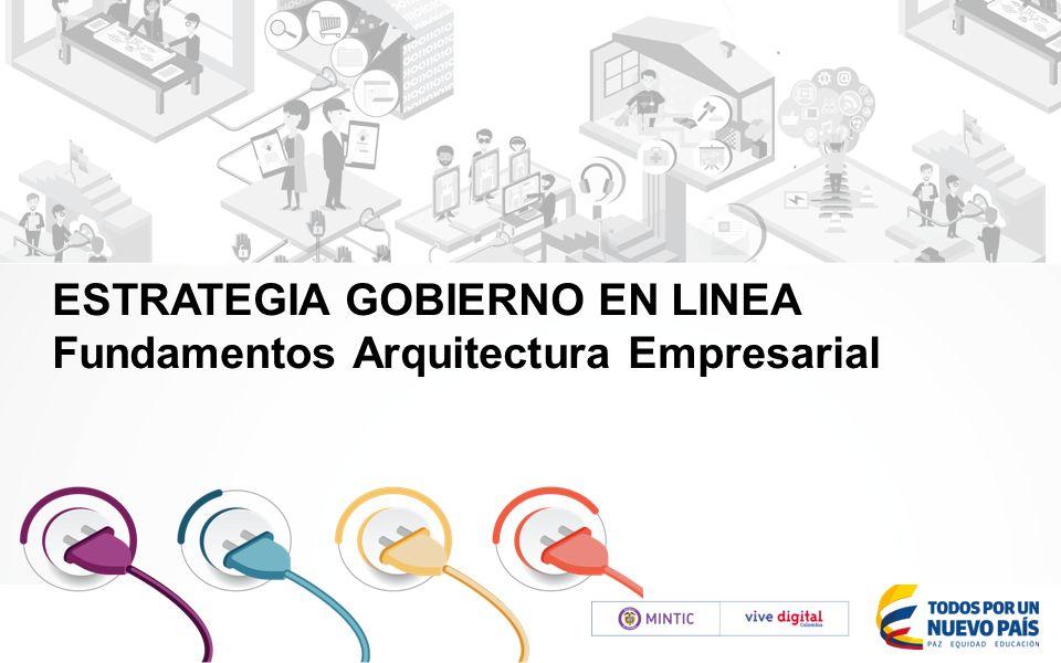 Estrategia gobierno en linea fundamentos arquitectura for Arquitectura en linea