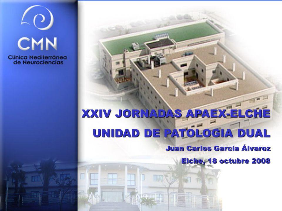 XXIV JORNADAS APAEX-ELCHE UNIDAD DE PATOLOGIA DUAL