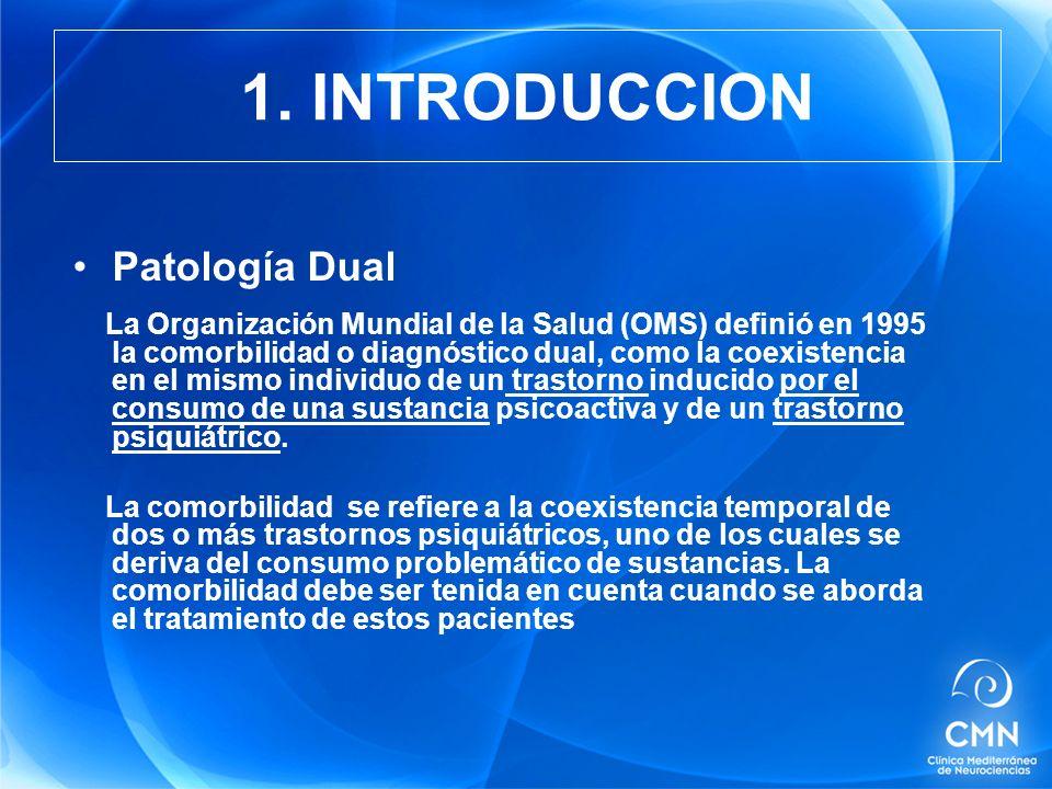1. INTRODUCCION Patología Dual