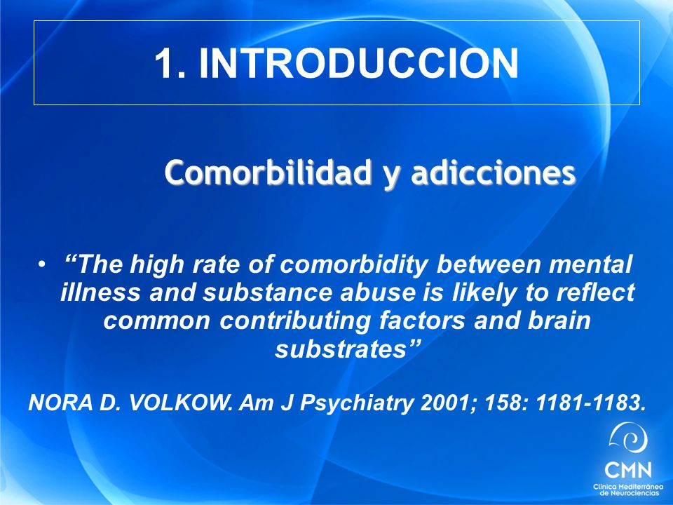 NORA D. VOLKOW. Am J Psychiatry 2001; 158: 1181-1183.