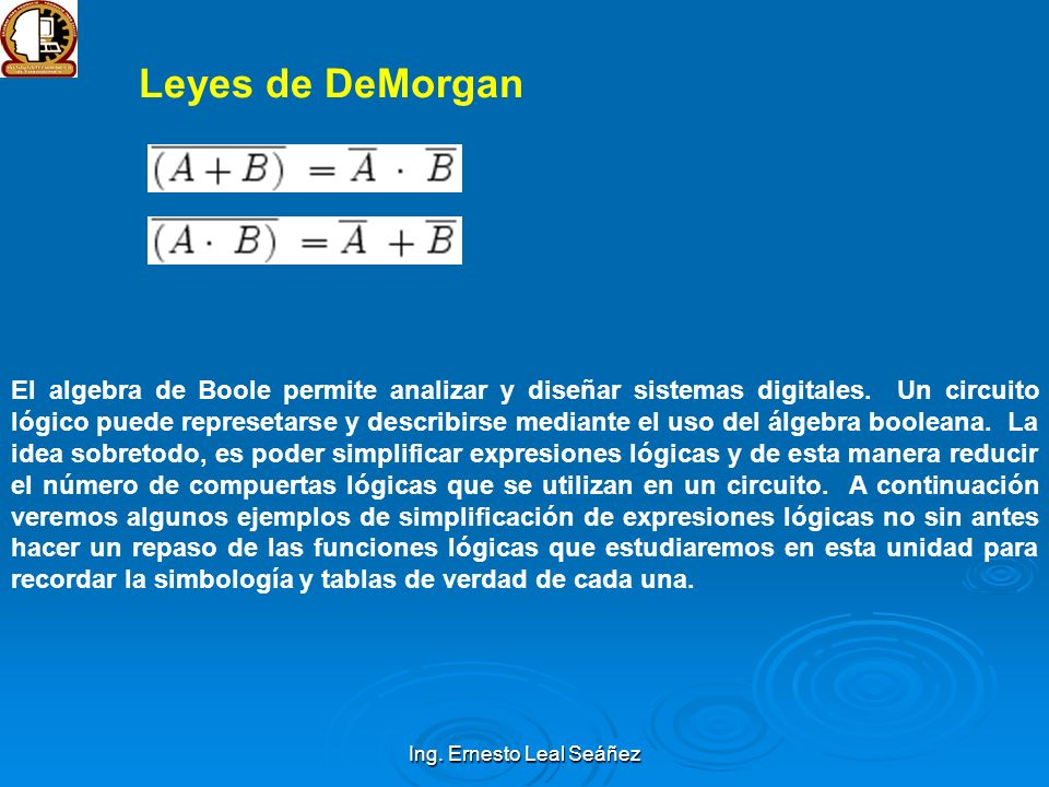 Ing. Ernesto Leal Seáñez