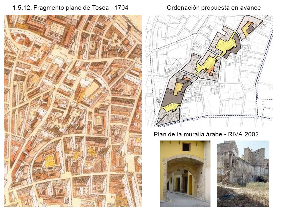 Plan de la muralla árabe - RIVA 2002