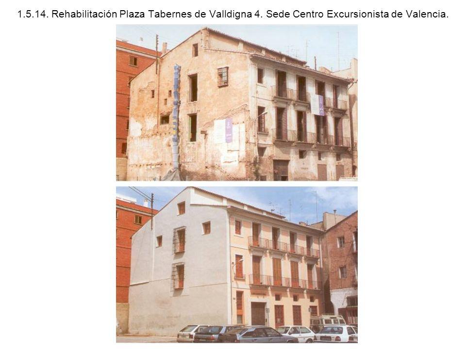 1. 5. 14. Rehabilitación Plaza Tabernes de Valldigna 4