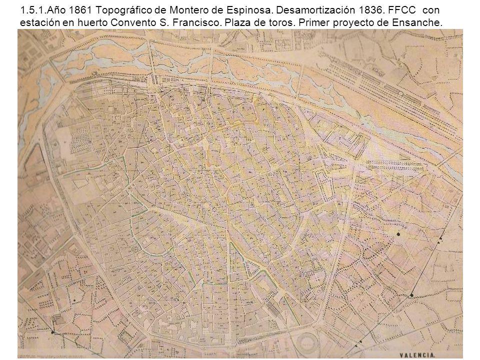 1. 5. 1. Año 1861 Topográfico de Montero de Espinosa