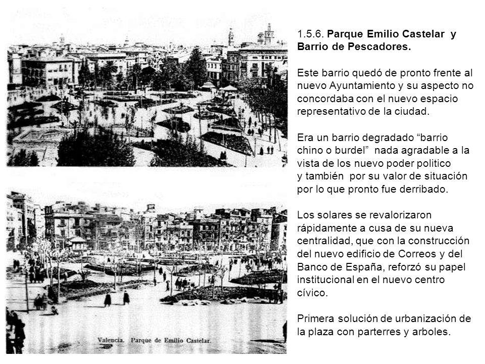 1. 5. 6. Parque Emilio Castelar y Barrio de Pescadores