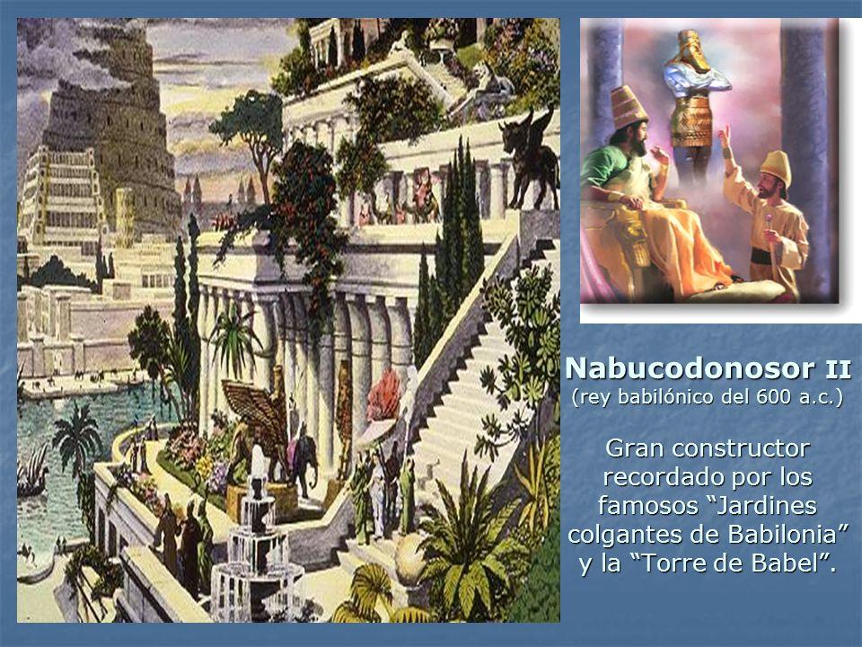 Nabucodonosor II (rey babilónico del 600 a. c
