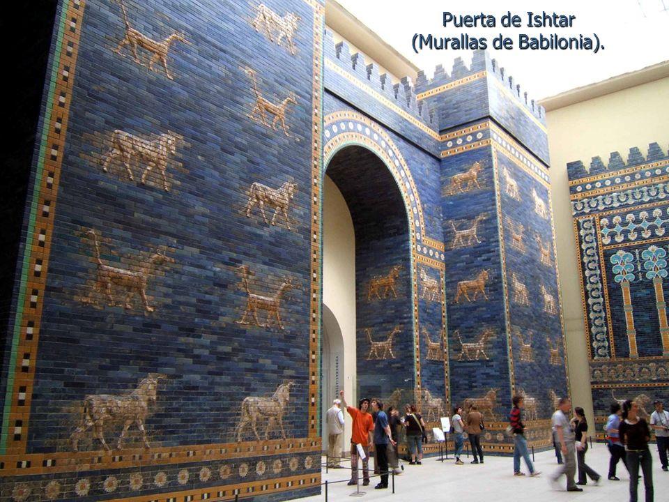 Puerta de Ishtar (Murallas de Babilonia).
