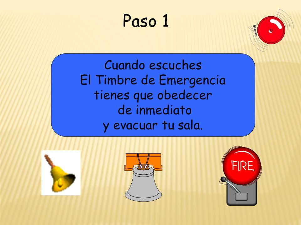 El Timbre de Emergencia