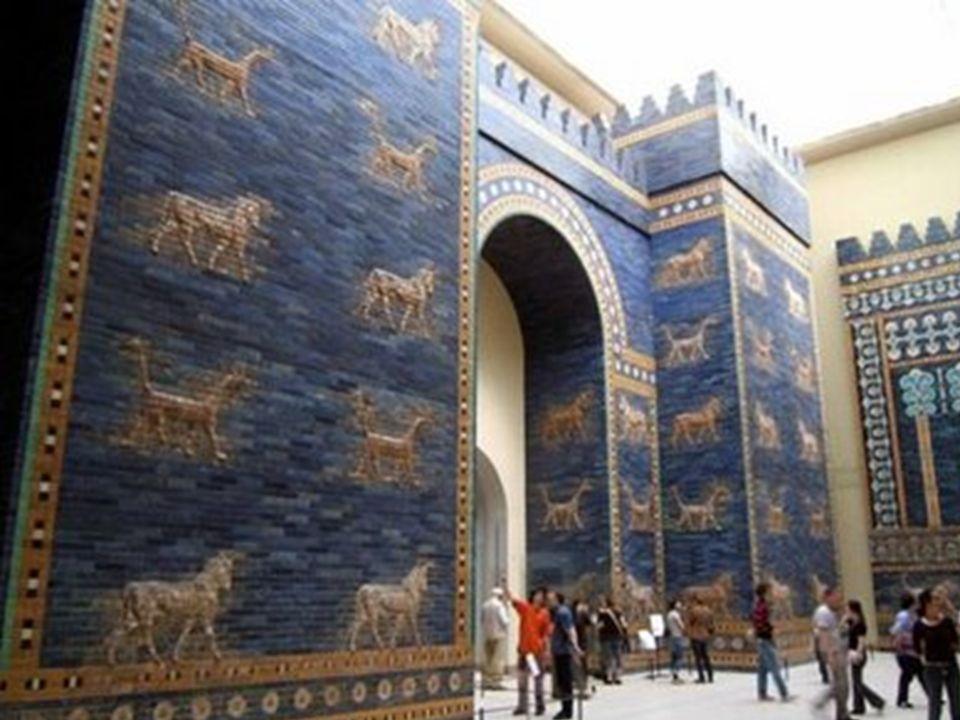 Museo de Pérgamo de Berlín. Reconstrucción de la Puerta de Ishtar