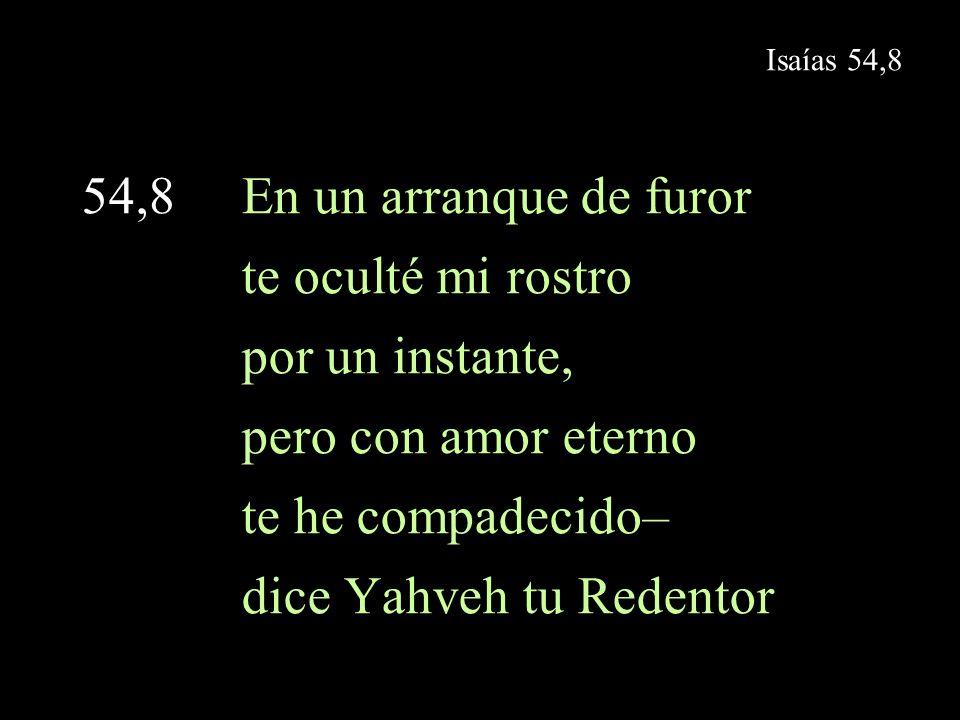 dice Yahveh tu Redentor