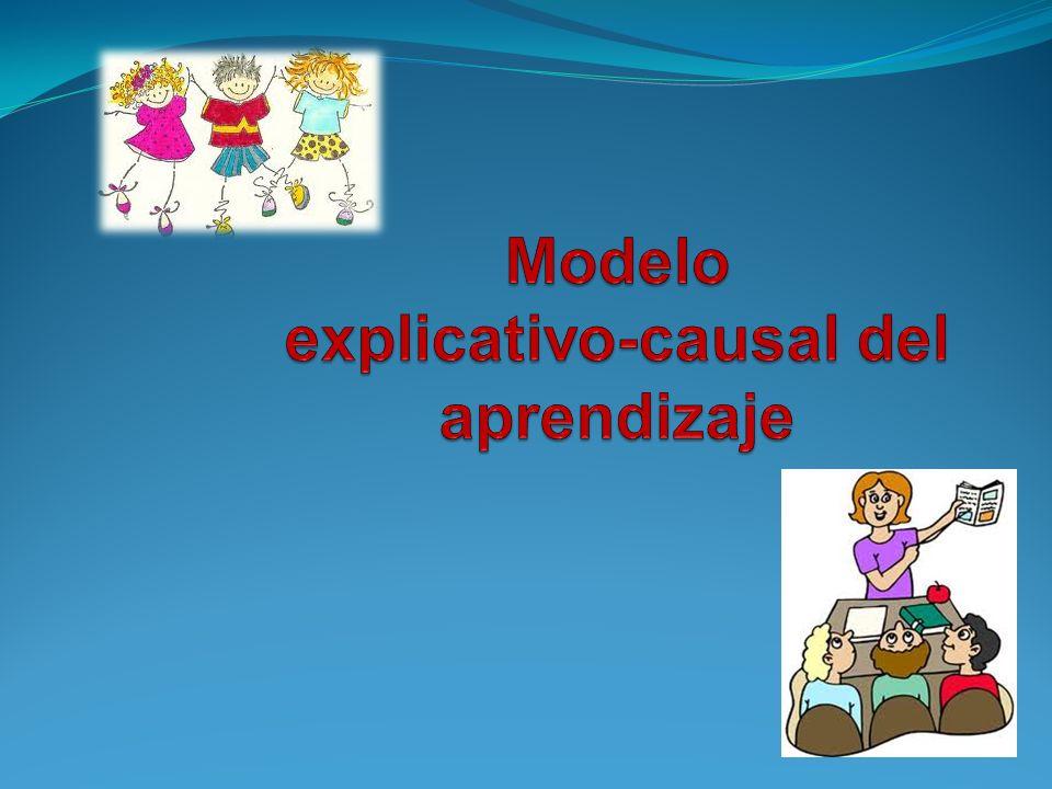 Modelo explicativo-causal del aprendizaje