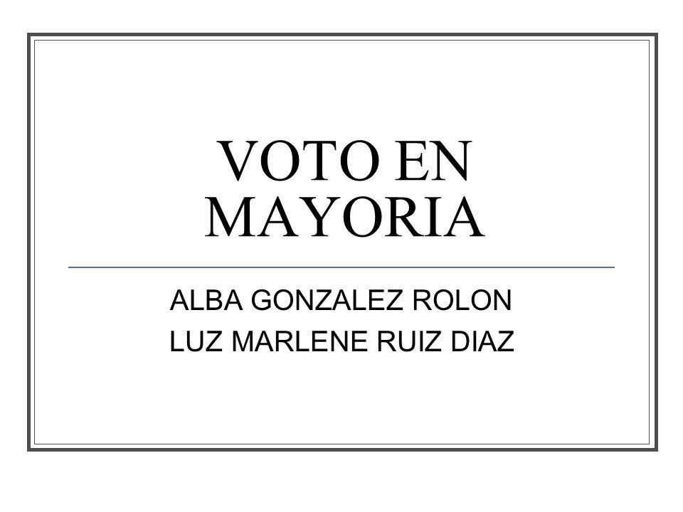 ALBA GONZALEZ ROLON LUZ MARLENE RUIZ DIAZ