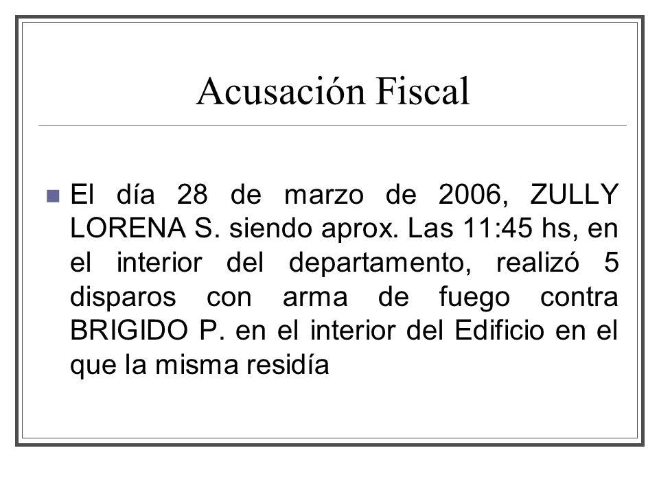 Acusación Fiscal