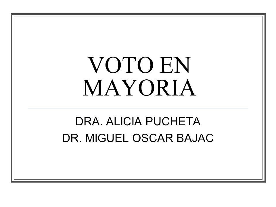 DRA. ALICIA PUCHETA DR. MIGUEL OSCAR BAJAC