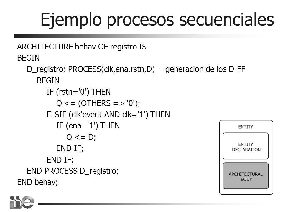 Ejemplo procesos secuenciales