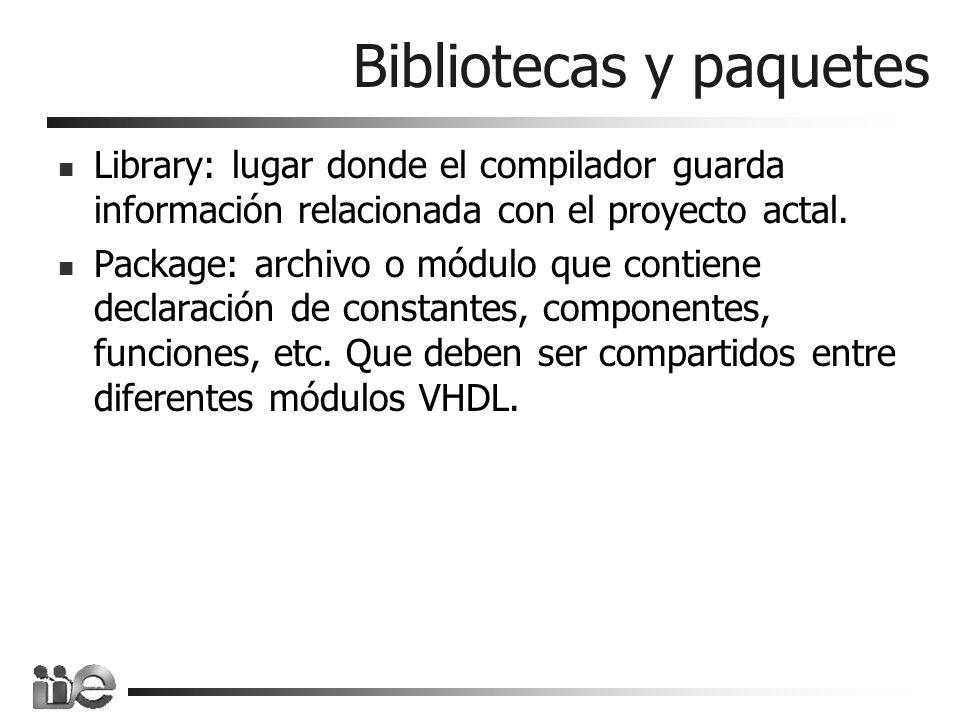 Bibliotecas y paquetes