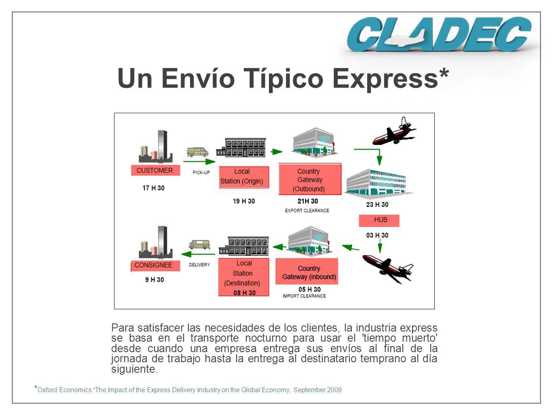 Un Envío Típico Express*