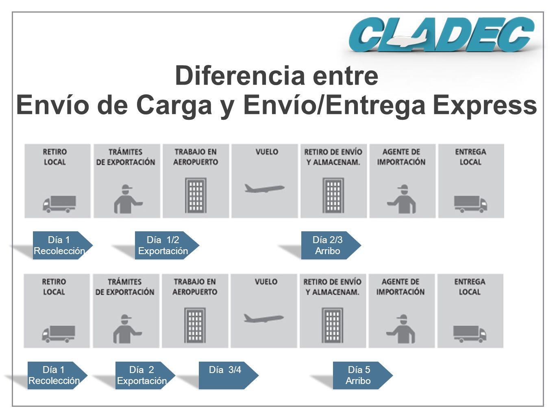 Envío de Carga y Envío/Entrega Express