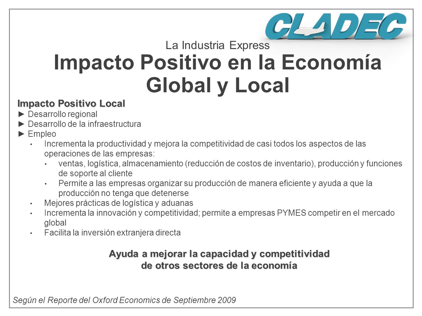 La Industria Express Impacto Positivo en la Economía Global y Local