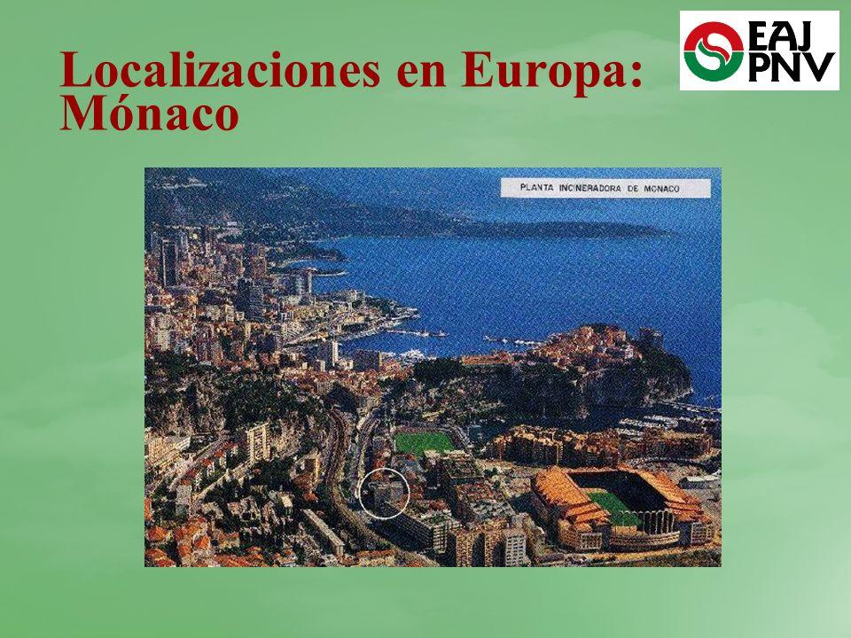 Localizaciones en Europa: Mónaco