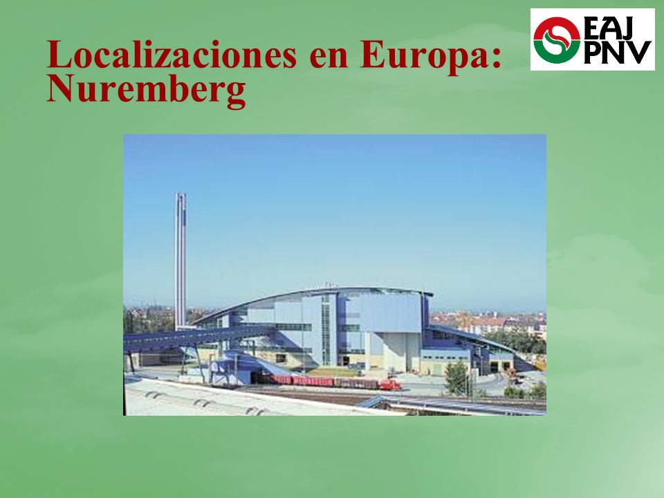 Localizaciones en Europa: Nuremberg