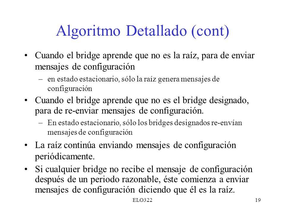 Algoritmo Detallado (cont)