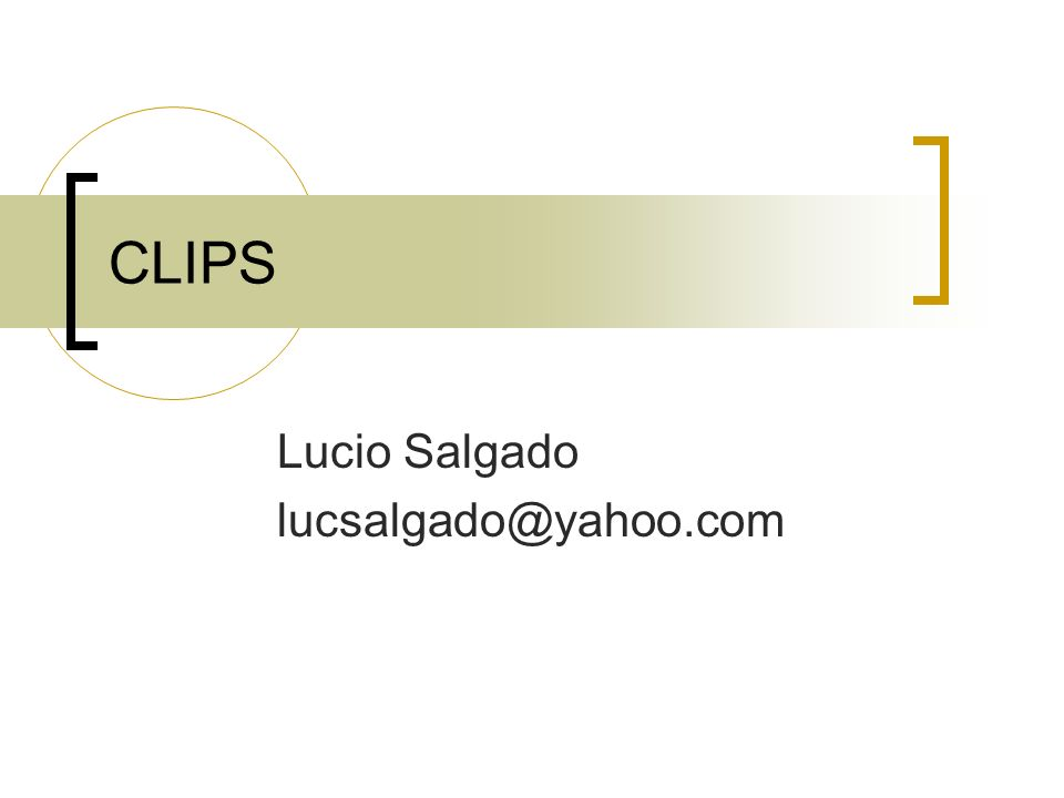 Lucio Salgado lucsalgado@yahoo.com