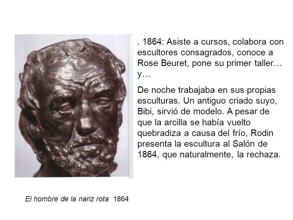 El hombre de la nariz rota 1864