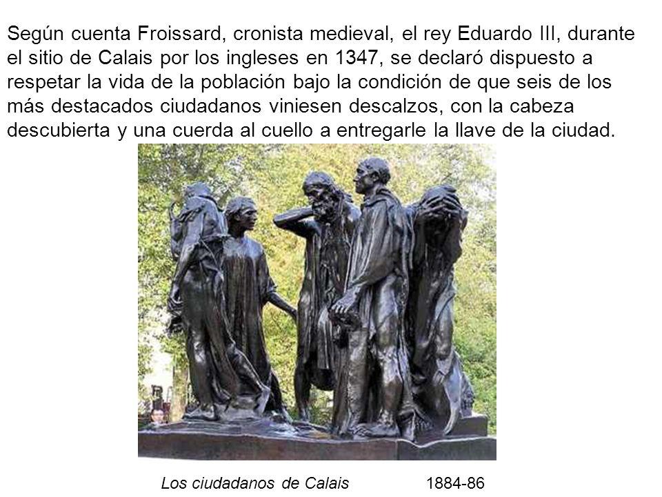 Los ciudadanos de Calais 1884-86