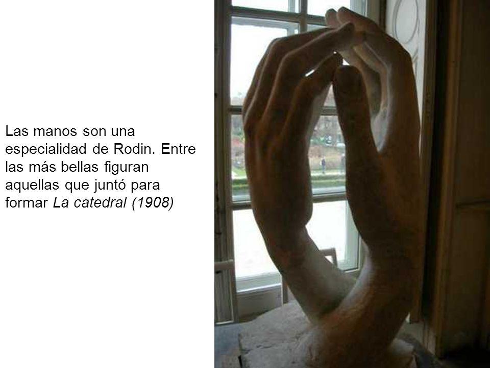 Las manos son una especialidad de Rodin