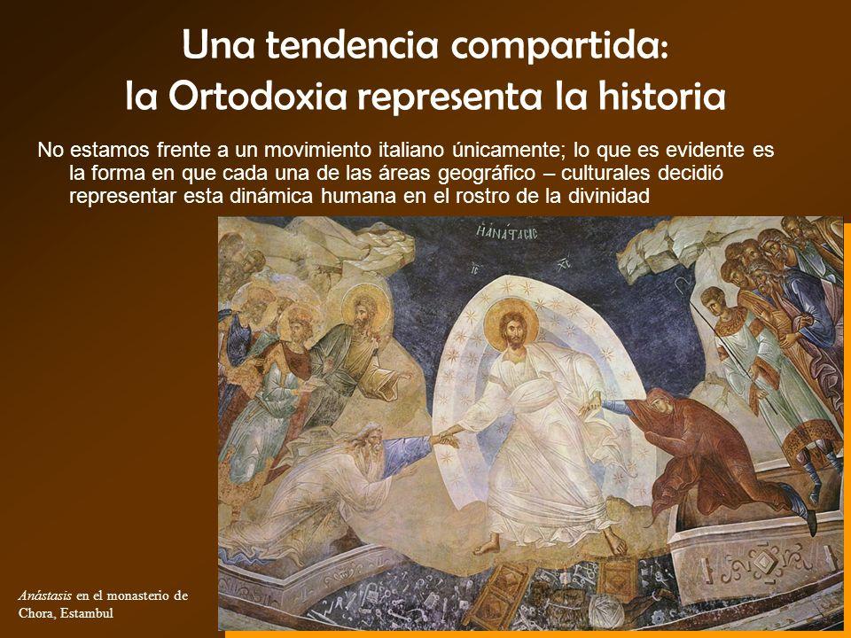 Una tendencia compartida: la Ortodoxia representa la historia