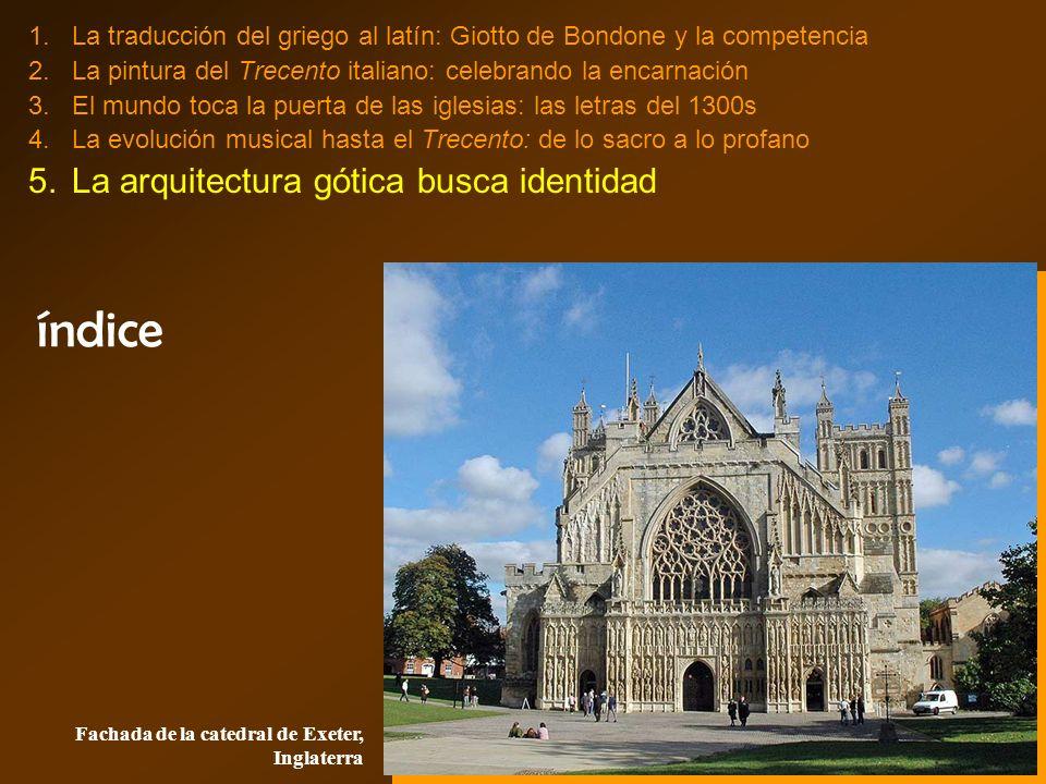 índice La arquitectura gótica busca identidad