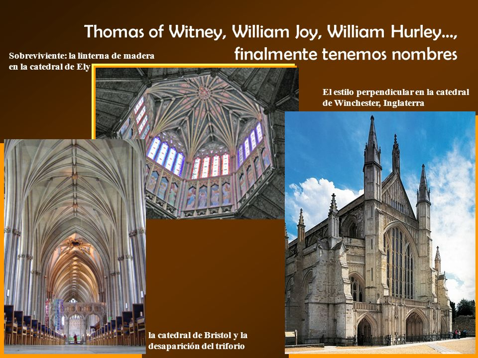 Thomas of Witney, William Joy, William Hurley
