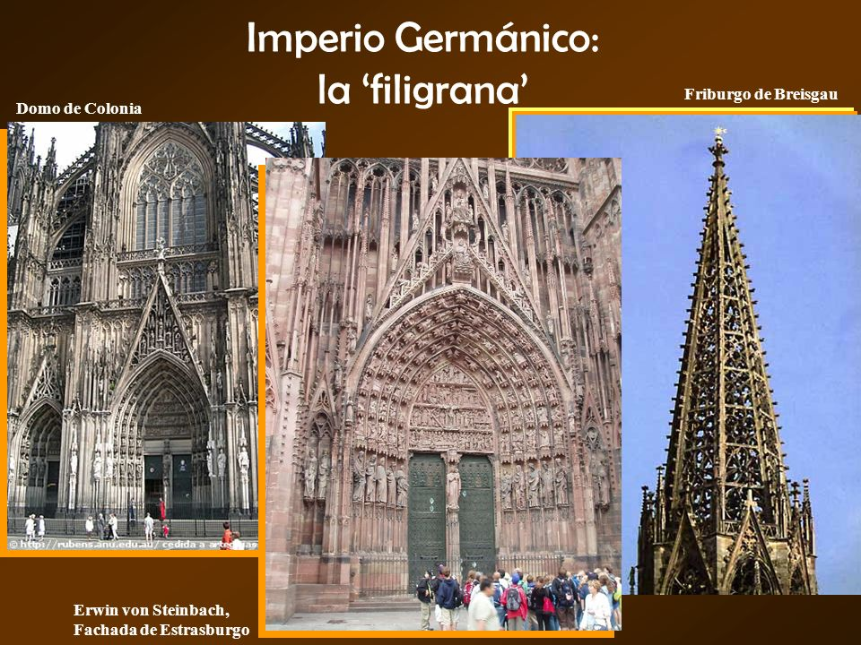 Imperio Germánico: la 'filigrana'