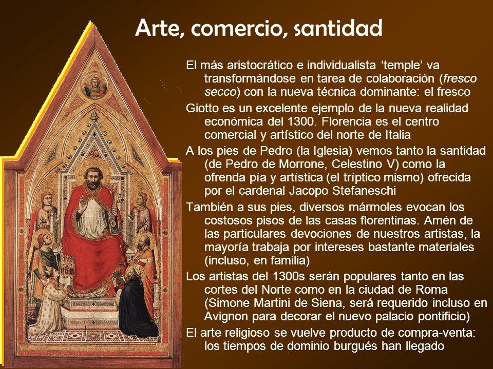 Arte, comercio, santidad