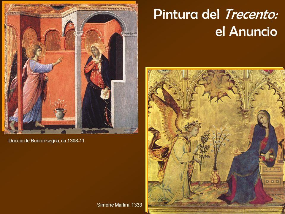 Pintura del Trecento: el Anuncio