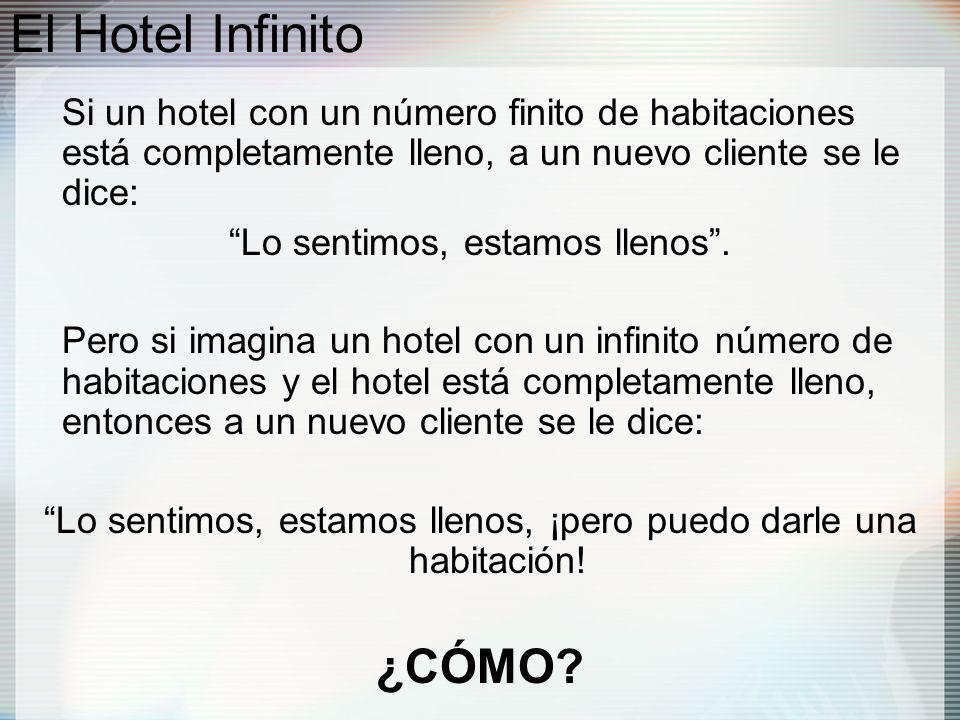 El Hotel Infinito ¿CÓMO